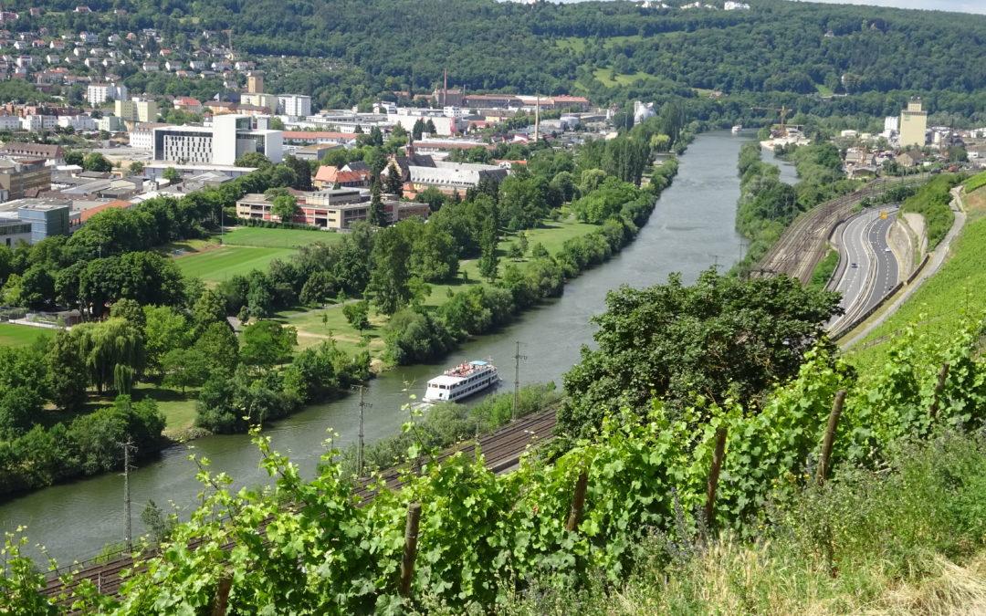 Würzburg – Wanderung nach VHH und zurück per Schiff