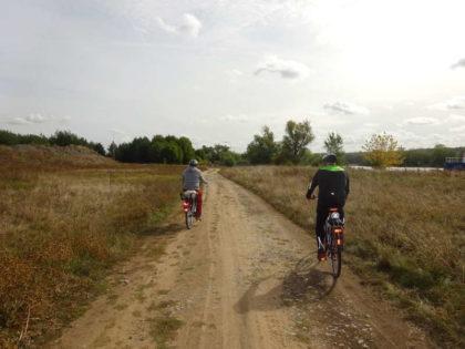 Single-Radtour Weininsel