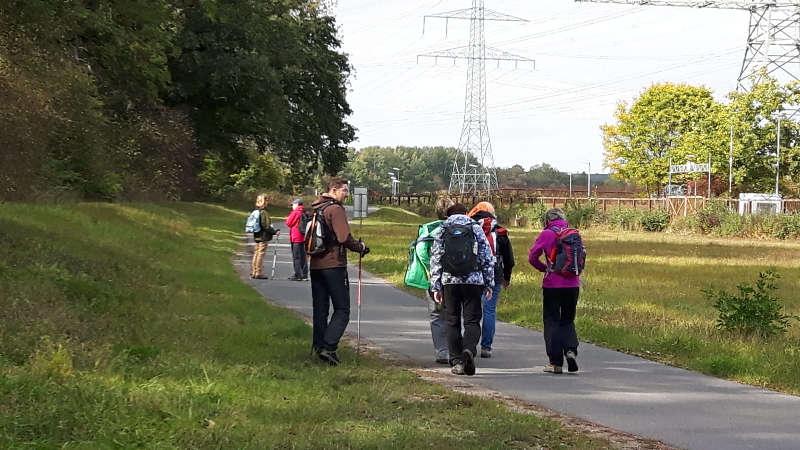 Wanderung Unterfranken Kernkraftwerk Naturschutz