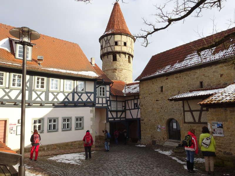 Kirchenburg Ostheim Innenhof