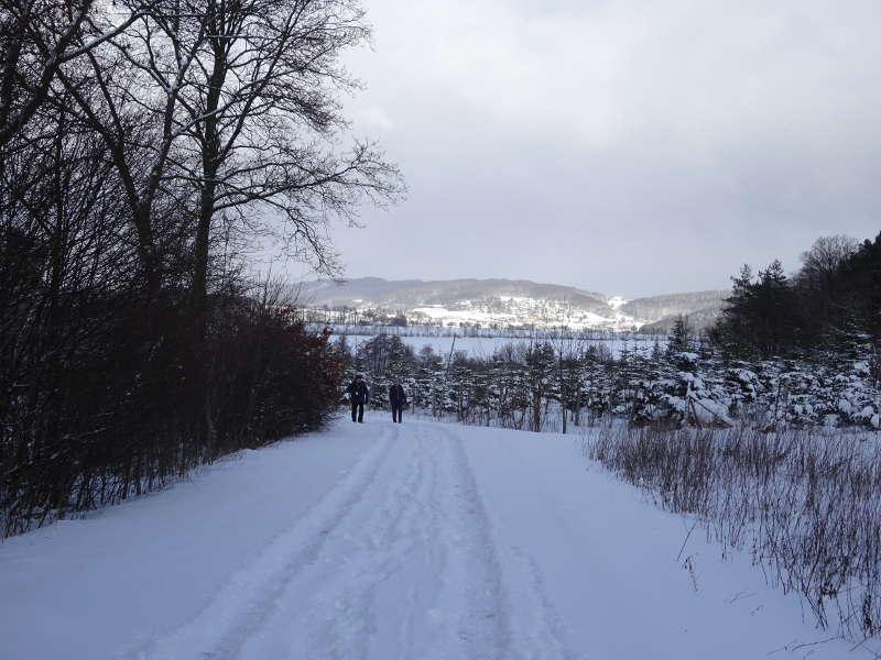 Winterlandschaft in der Rhön