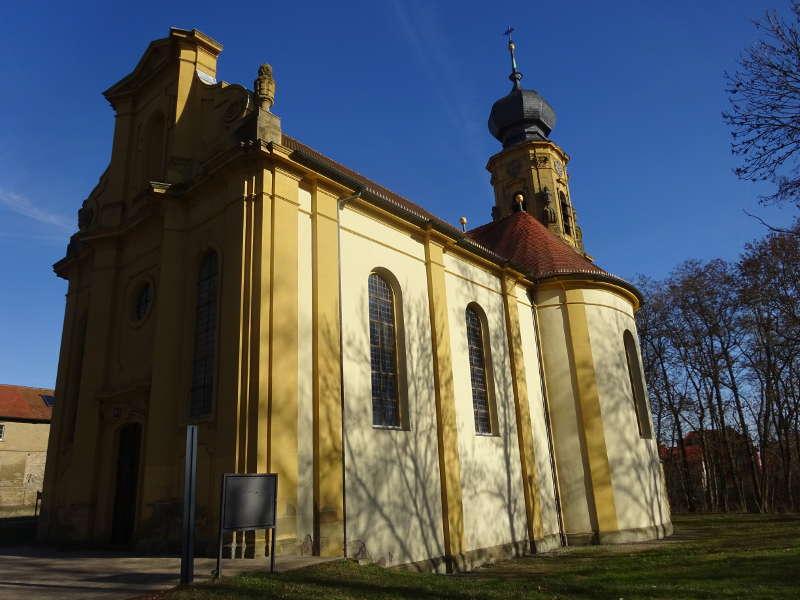 Baltasar Neumann Kirche in Gaibach