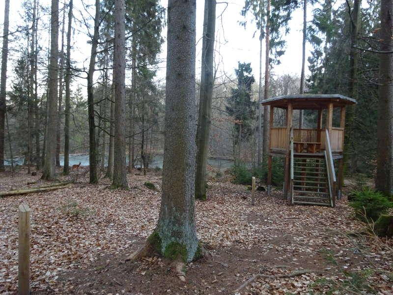 Hochsitz im Steigerwald