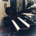 Klavier der Monkey-Man-Band in Dettelbach zum Singles treffen sich zum Tanzen