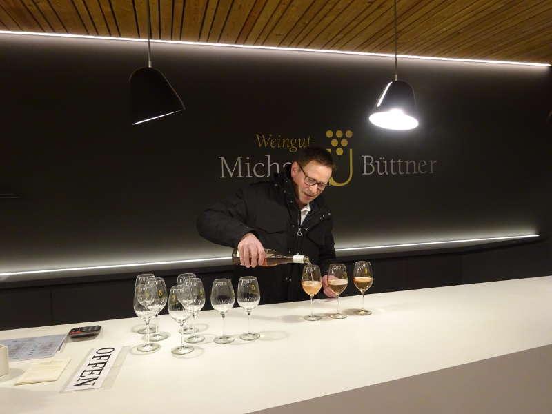 Weingut Weinprobe Michael Büttner Nordheim Weininsel