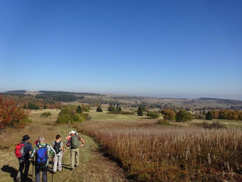 Singles Wandern Rhön Outdoor Aktivität gemeinsam unterwegs Unterfranken