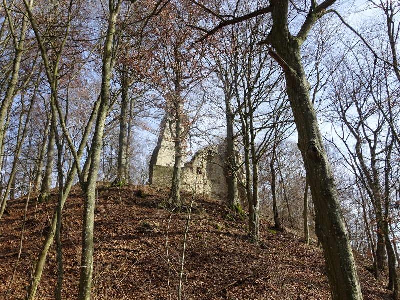 Ruine Stollburg Steigerwald Aktivität