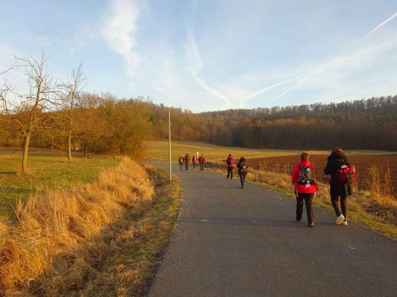 Single Steigerwald Wanderung Handthal Ebrach