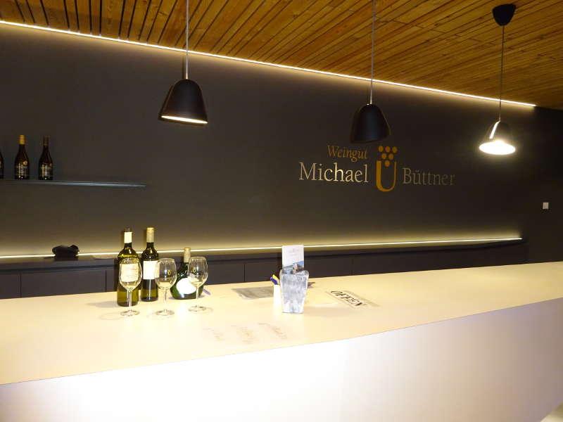Weinprobe Michael Büttner Nordheim Weininsel