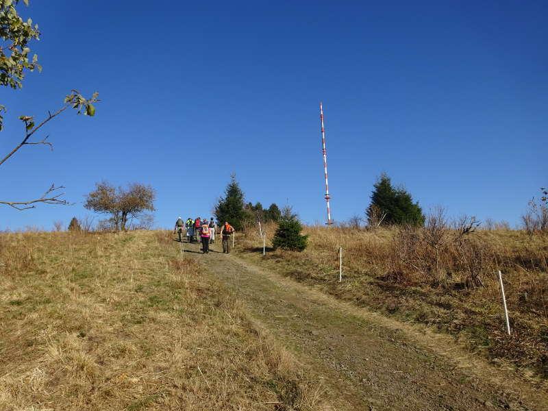 Heidelstein Singlewanderung Rhön Bayern Unterfranken