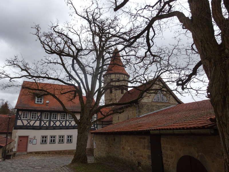 Kirchenburg Ostheim Singlewanderung Sonja Heinemann