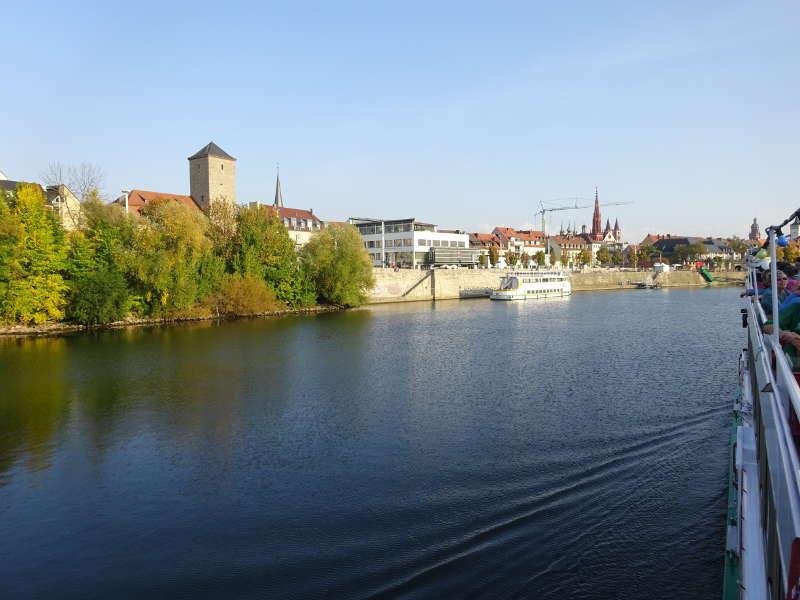 Single Schifffahrt Veitshöchheim nach Würzburg Unterfranken